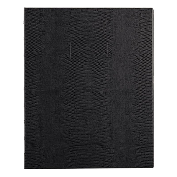 """Blueline AF915081 9 1/4"""" x 7 1/4"""" Black College Rule 1 Subject MiracleBind Notebook - 75 Sheets Main Image 1"""