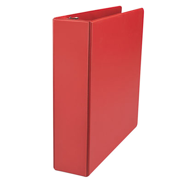 "Universal UNV20783 Red Non-View Binder with 2"" Slant Rings Main Image 1"