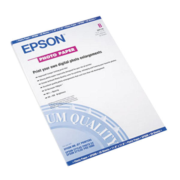 """Epson S041156 11"""" x 17"""" Glossy Pack of 60# Photo Paper - 20 Sheets Main Image 1"""