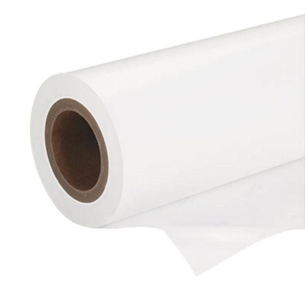 "Epson S042075 16 1/2"" x 100' White Premium Semi-Gloss Photo Paper Roll"
