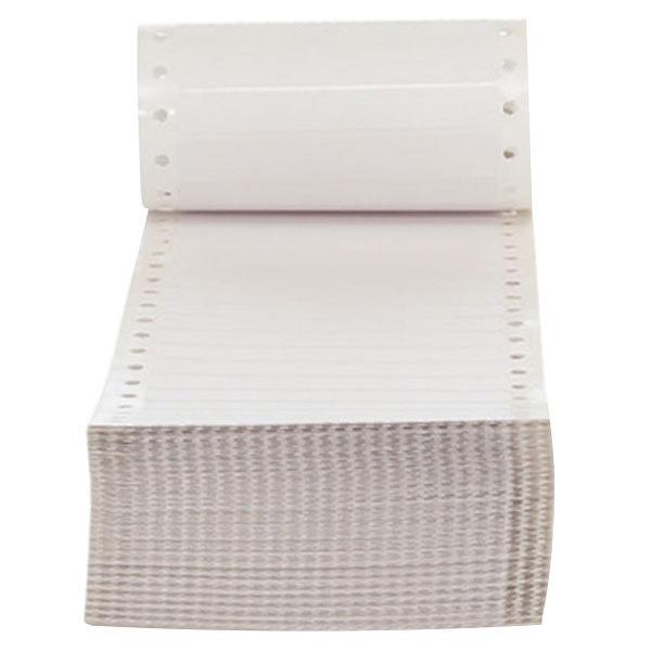 """Universal UNV70103 3 1/2"""" x 7/16"""" White Dot Matrix Printer Mailing Labels - 5000/Box"""