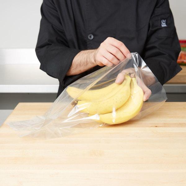 "Plastic Food Bag 8"" x 5"" x 18"" - 1000/Box"
