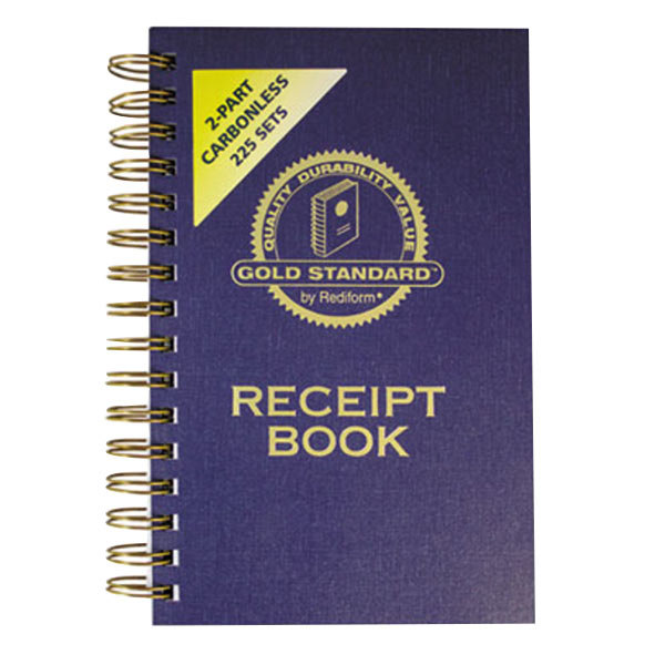 Rediform Office 8L829 2-Part Carbonless Money Receipt Book with 225 Sheets
