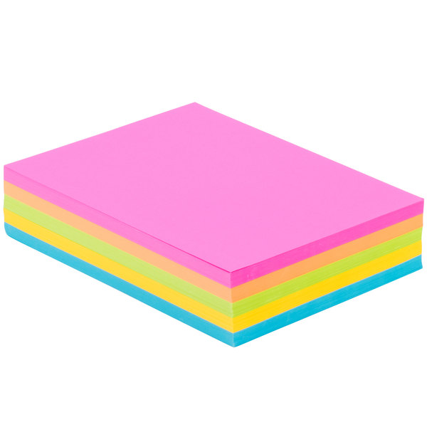 """neenah 99904 astrobrights 8 12"""" x 11"""" bright assorted 65"""