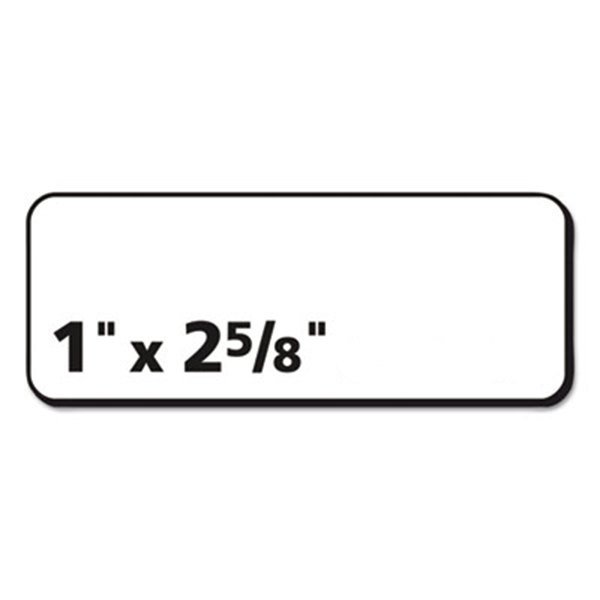 Avery 15660 Easy Peel 1 X 2 5 8 Clear Laser Printer Address Labels