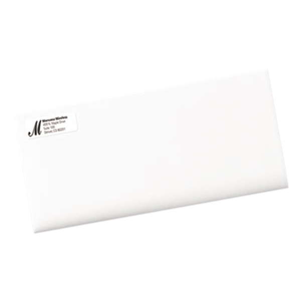 Avery 5195 Easy Peel 23 X 1 34 Printable Return Address Labels