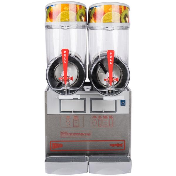 Cecilware FrigoGranita MT2UL Double 2.5 Gallon Pourover Slush Machine - 120V