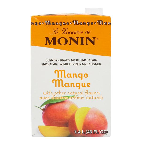 Monin 46 fl. oz. Mango Fruit Smoothie Mix Main Image 1