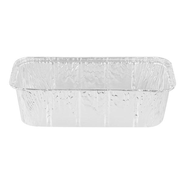 D&W Fine Pack 15780 2 lb. Aluminum Foil Loaf Pan - 500/Case