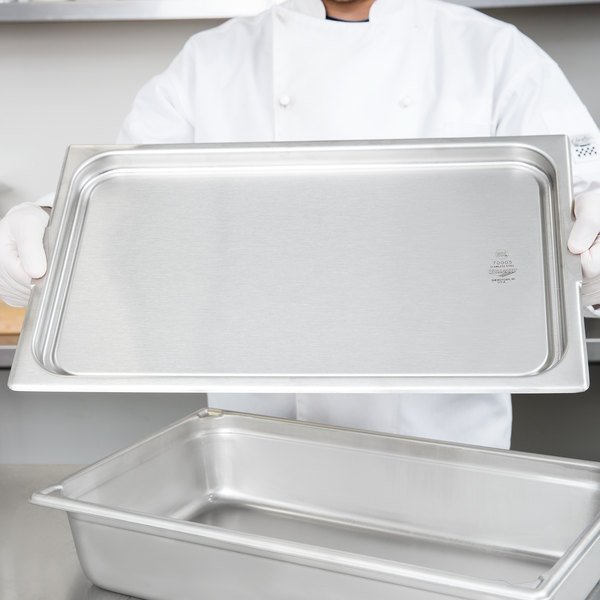 Vollrath 70005 Super Pan Full Size Stainless Steel Food Transport Cover