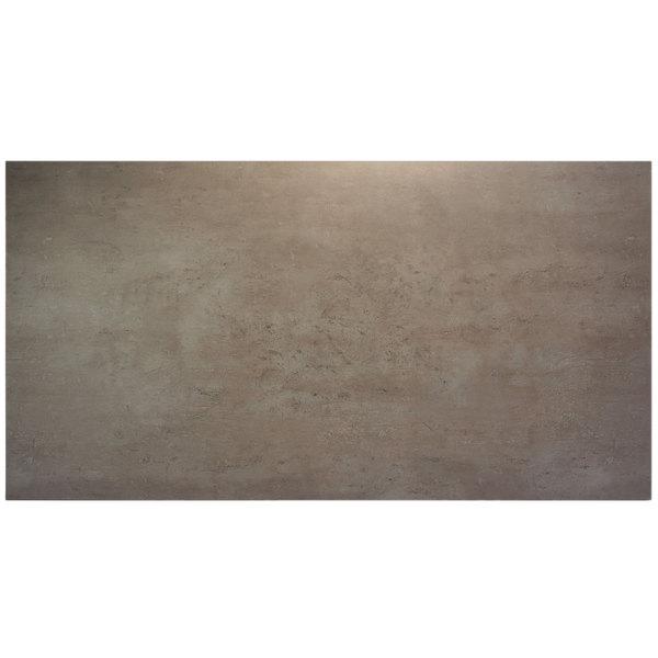 "BFM Seating CNT3072 Midtown 30"" x 72"" Textured Concrete Laminate Indoor Tabletop"