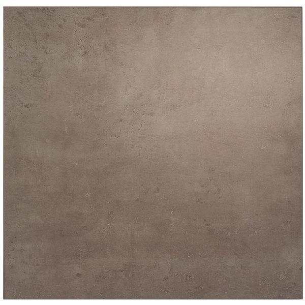 "BFM Seating CNT3030 Midtown 30"" Square Textured Concrete Laminate Indoor Tabletop Main Image 1"