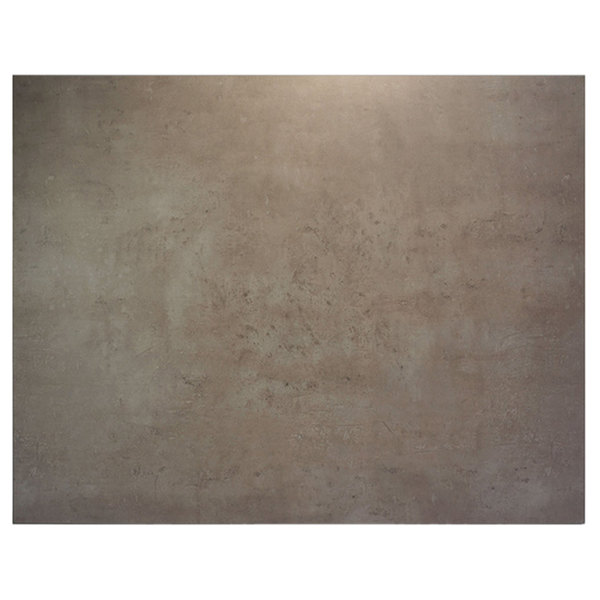 "BFM Seating CNT3042 Midtown 30"" x 42"" Textured Concrete Laminate Indoor Tabletop"