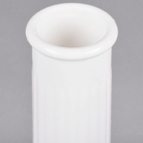 Cambro Bv6cw148 Camwear 6 White Customizable Polycarbonate Bud Vase