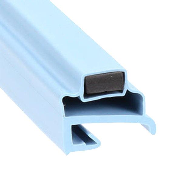 "Delfield 1702007 Equivalent Magnetic Drawer Gasket - 15 5/8"" x 9 1/8"""