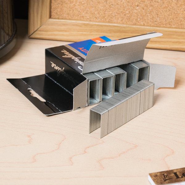 Swingline 35320 210 Strip Count Heavy-Duty Chisel Point Staples - 1000/Box