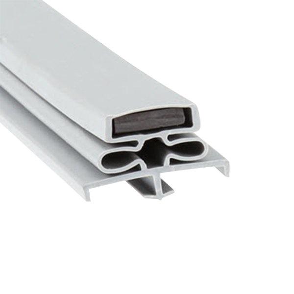 """Traulsen 341-60083-00 Equivalent Magnetic Door Gasket - 22 5/8"""" x 59 3/4"""" Main Image 1"""
