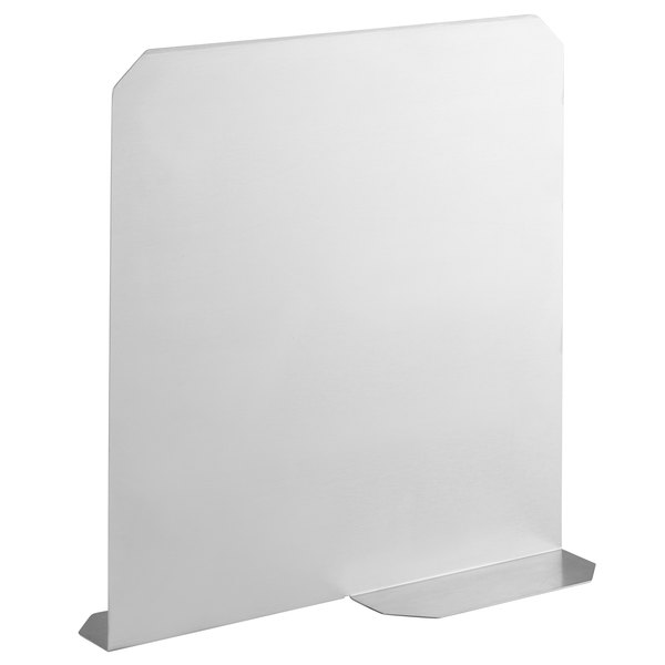 """Advance Tabco A-39 12"""" Stainless Steel Ice Bin Partition Main Image 1"""