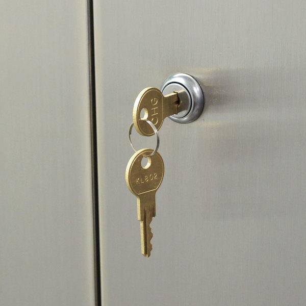 Advance Tabco TA-46 Door Lock Upgrade
