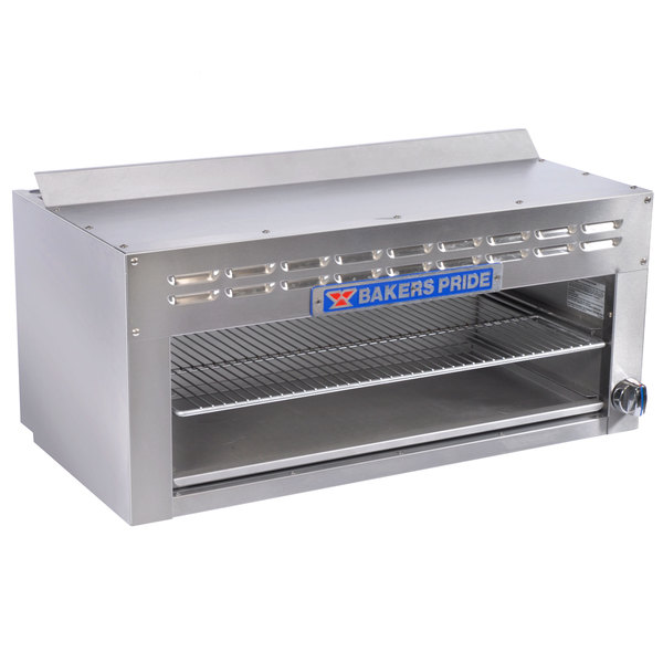 "Bakers Pride BPCMi-48 Liquid Propane 48"" Cheese Melter"