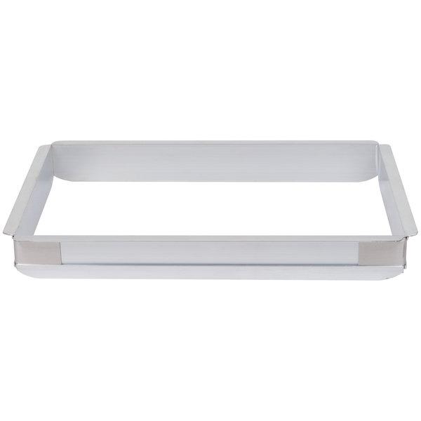 Baker's Mark 2 inch High Half-Size Aluminum Pan Extender