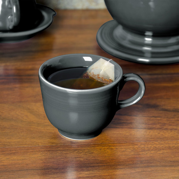 d03df06659b Homer Laughlin 452339 Fiesta Slate 7.75 oz. China Cup - 12/Case