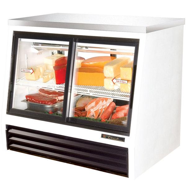 True TSID-48-4-L Low Height Four Door Refrigerated Deli Case
