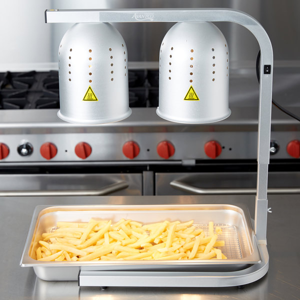 Food Warmer With Pan And Grate, Warming Lamps For Food
