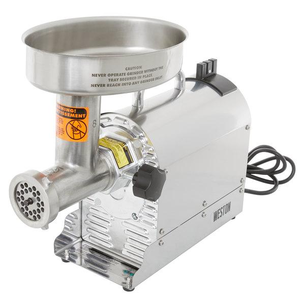 Backyard Pro Bsg12: Weston 10-0801-W #8 Pro Series Electric Meat Grinder