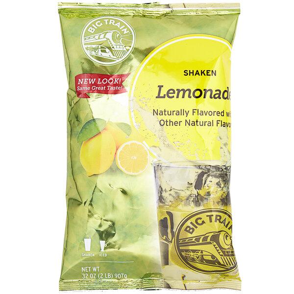 Big Train 2 lb. Shaken Lemonade Drink Mix Main Image 1