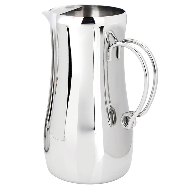 Eastern Tabletop 7430 Ballerina 64 Oz Stainless Steel Water Pitcher