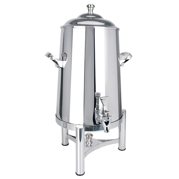 Eastern Tabletop 3001PL Pillar'd 1.5 Gallon Insulated Stainless Steel Coffee Urn