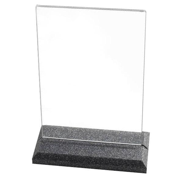 """Cal-Mil 653 Granite Base Displayette - 5 1/2"""" x 8 1/2"""""""