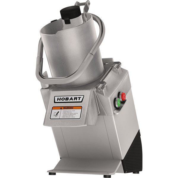Hobart FP250-1A Continuous Feed Food Processor with 3 Plates - 3/4 hp Main Image 1