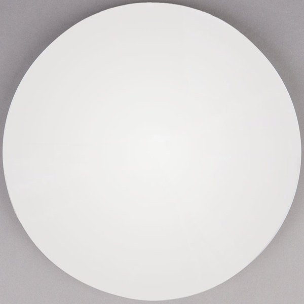 """Grosfillex 99832004 30"""" Round White Outdoor Molded Melamine Table Top"""