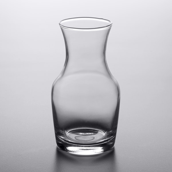Acopa 6 oz. Glass Carafe - 12/Case
