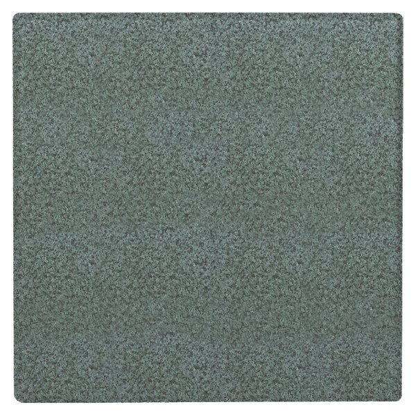 """Grosfillex 99842125 32"""" Square Granite Green Outdoor Molded Melamine Table Top"""