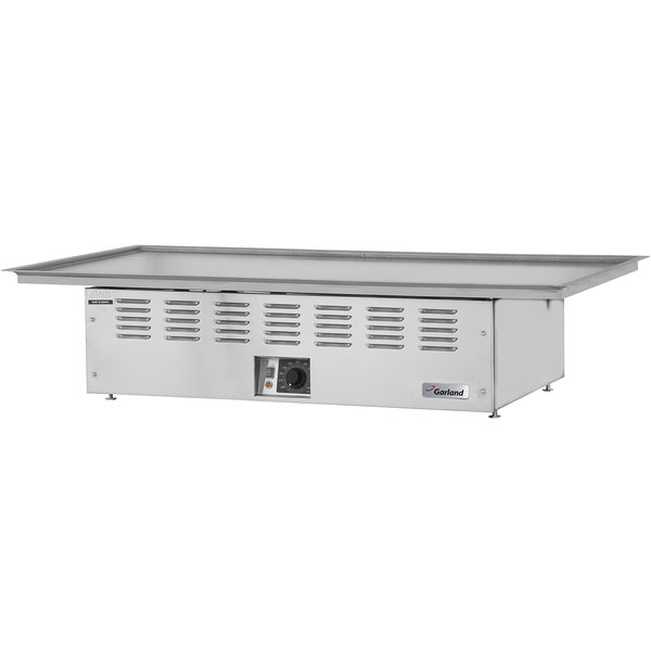 "Garland E22-36-36GMX Electric Drop-In 36"" Teppanyaki Griddle - 208V, 1 Phase, 3.35 kW"