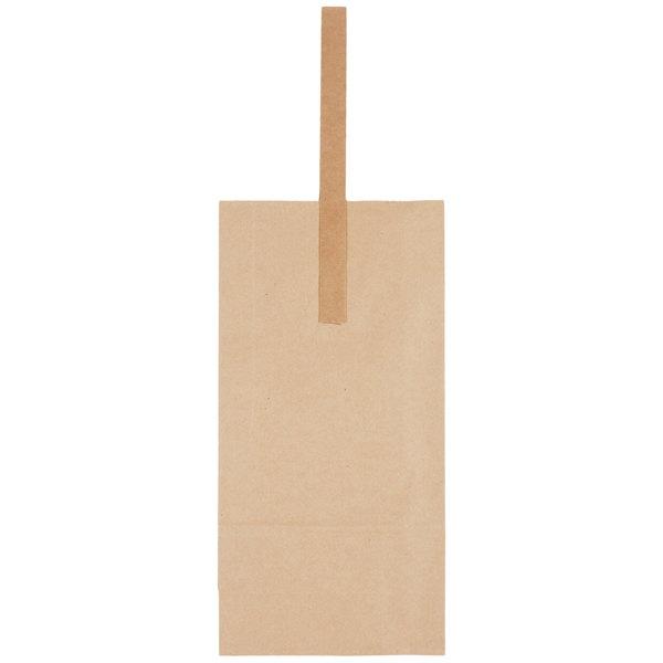 2 Bottle Kraft Paper Wine Bag With Handle 25 Pack