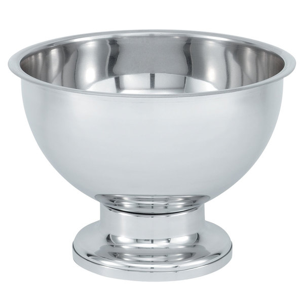 Vollrath 48772 20 Qt. Silverplated New York, New York Punch Bowl