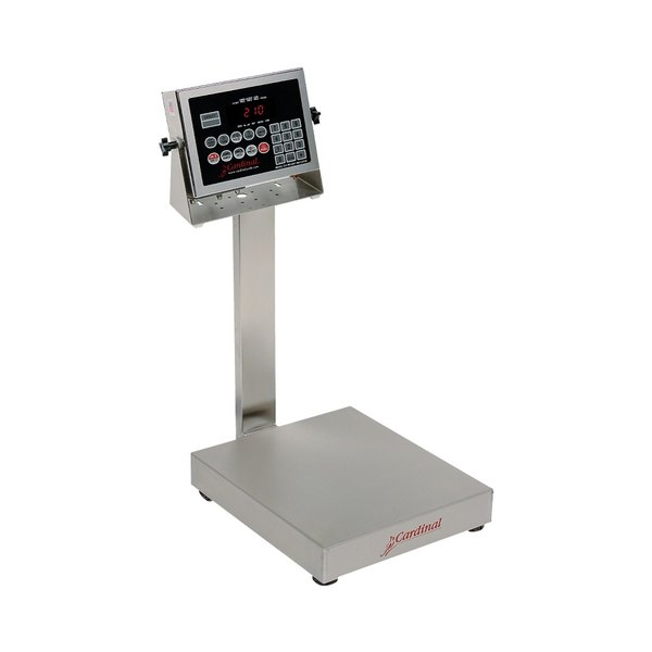 Cardinal Detecto EB-300-210 300 lb. Electronic Bench Scale with 210 Indicator and Tower Display, Legal for Trade