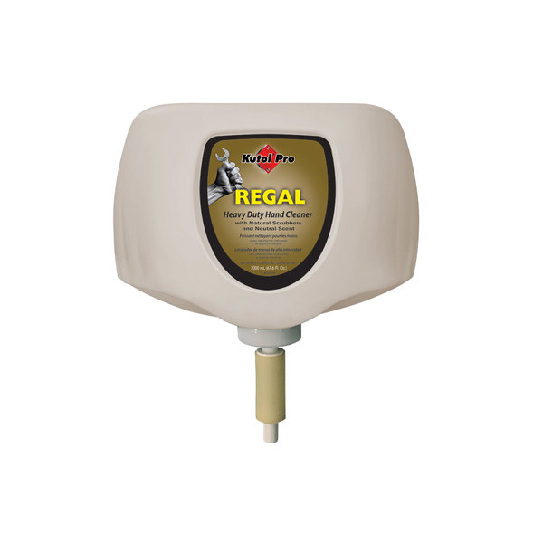 Kutol Pro 5267 Regal Mild Heavy-Duty Hand Soap 2000 mL Cartridge for Kutol DuraView Dispenser - 4/Case Main Image 1