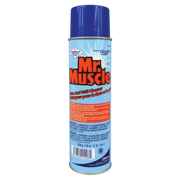 Diversey 91206 Mr. Muscle 19 oz. Aerosol Oven and Grill Cleaner - 6/Case