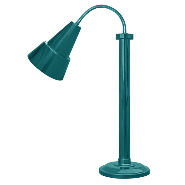 Hanson Heat Lamps SLM/100/ST TXT VRDGRS Textured Verdigris Flexible Single Bulb Freestanding Heat Lamp