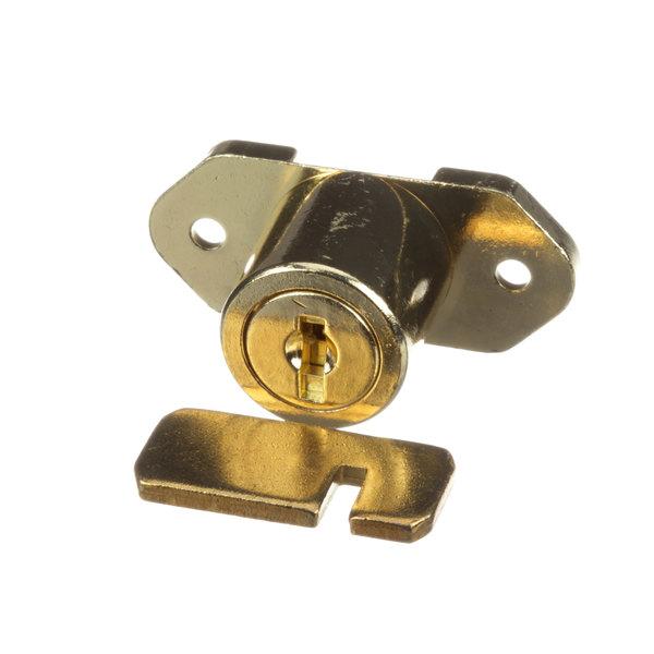 Glastender 06001535 Brass Door Lock Main Image 1