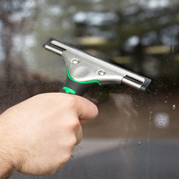 "Unger ES150 ErgoTec 6"" Window Squeegee with Ergonomic Handle"