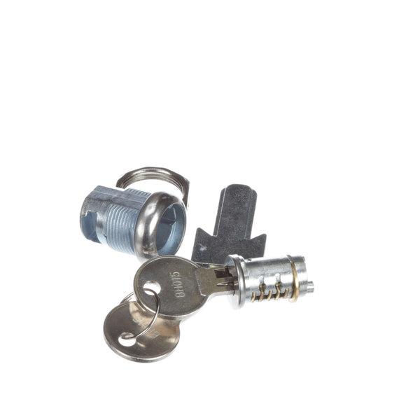 Kason® 91232C02420054 Cylinder, Hurd Lock W/ 2 Keys Main Image 1