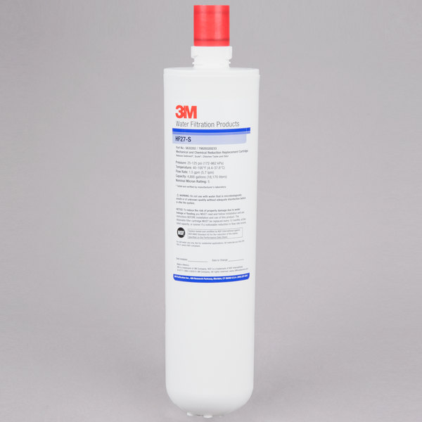 3M Cuno 5632202 Sediment, Chlorine Taste and Odor Reduction Cartridge with Scale Inhibition - 5 Micron and 1.5 GPM