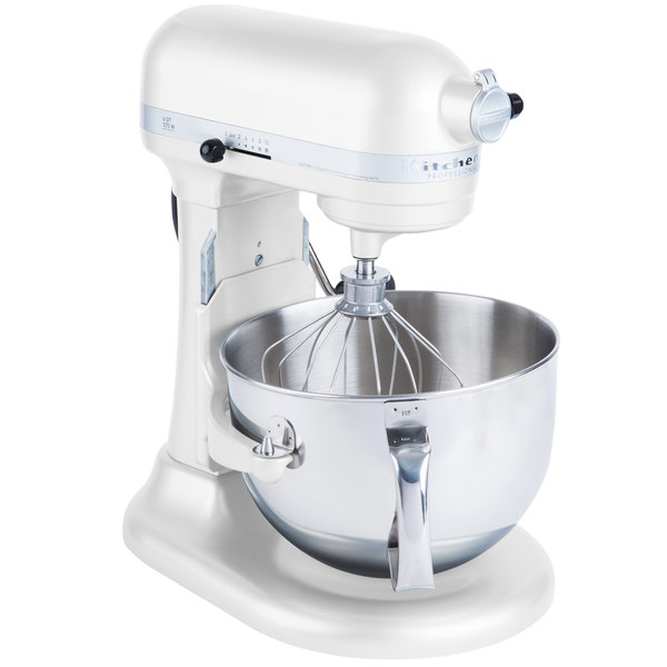 Kitchenaid Kp26m1xwh White Professional 600 Series 6 Qt
