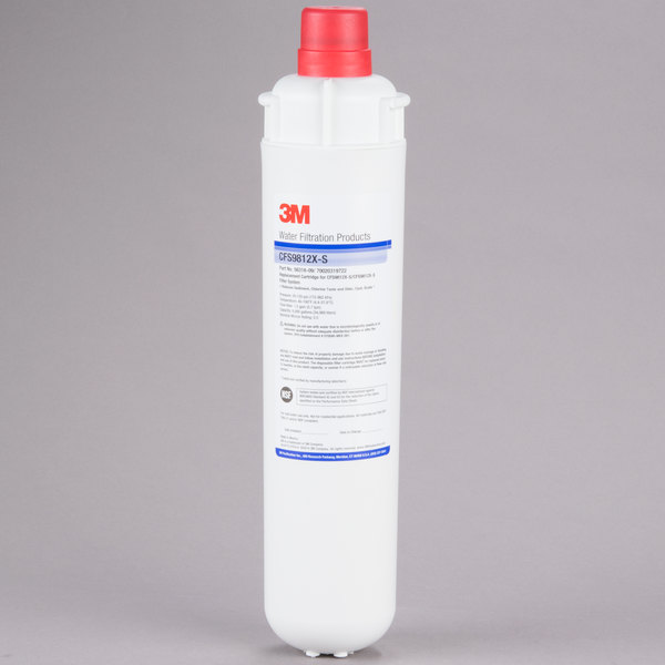 "3M Cuno CFS9812X-S 14 3/8"" Retrofit Sediment, Cyst, Chlorine Taste and Odor Reduction Cartridge with Scale Inhibition - 0.5 Micron and 1.5 GPM"